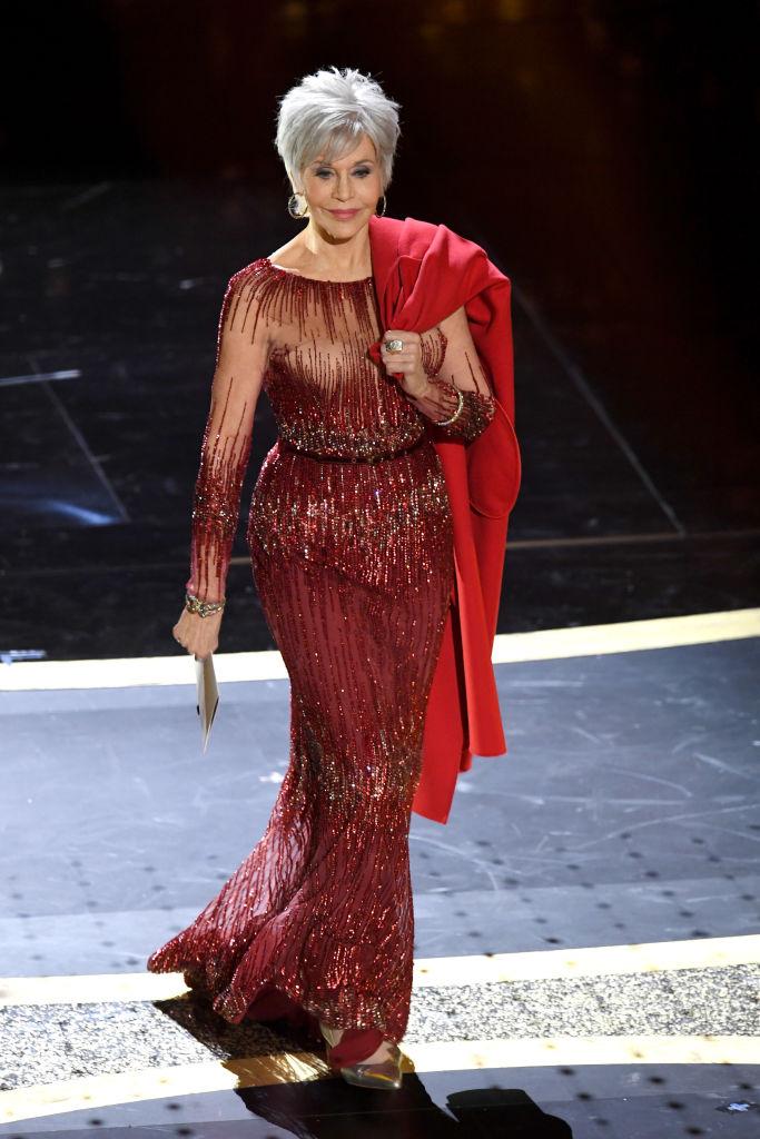 アカデミー賞のシルバーヘアが美しいと大絶賛!