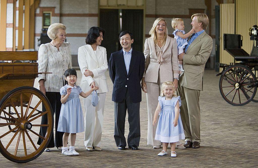 日本の天皇御一家との素敵なショットも