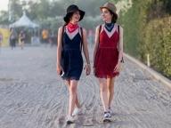 2.ガーリーに着たいレースのミニドレス