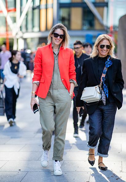 ジャケット・オンで都会的に着こなして