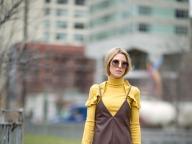 黄色×茶色の絶妙カラーリング
