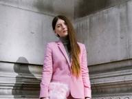 ピンク×ライトグレーの相性抜群なカラーリング