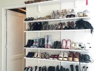 今、履きたい靴がすべて見渡せるシューシェルフ