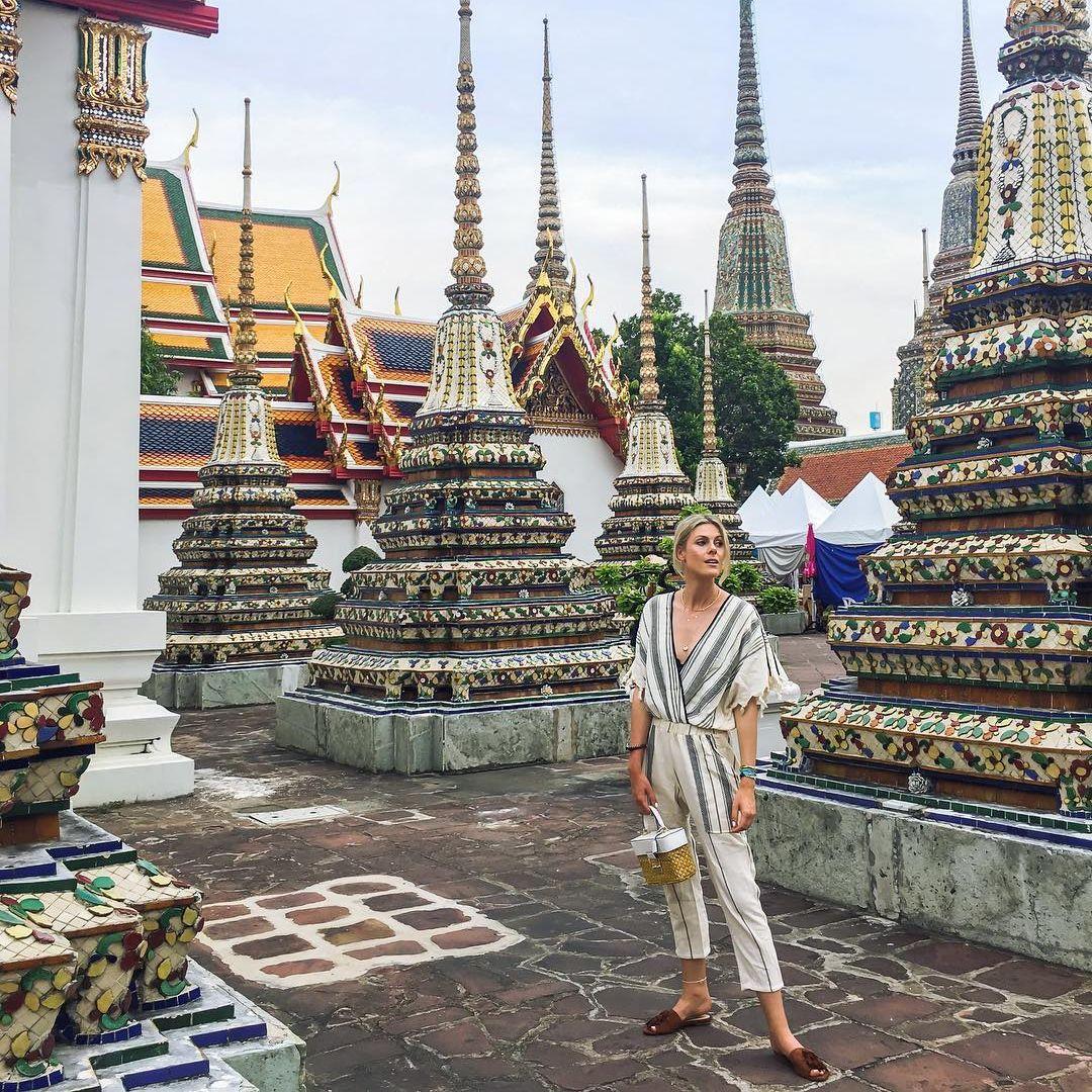 バンコクの寺院&マーケット見物には、都会的な小物を