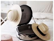 夏の旅にマストなハットボックス