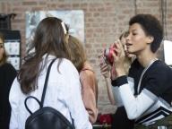 フィロソフィ ディ ロレンツォ セラフィニでは、モデルがモデルを撮影!?
