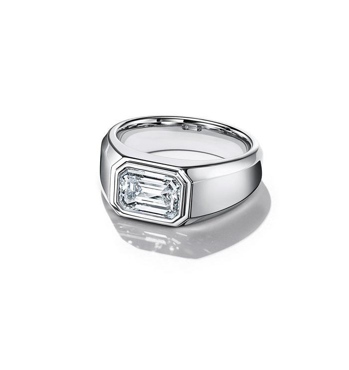 「チャールズ ティファニー セッティング」リング〈Pt、チタン、ダイヤモンド#.#ct~〉200万円台~(※日本展開モデル)