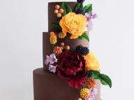 秋の結婚式を美味しく華麗に演出するビジュアルコンシャスケーキ