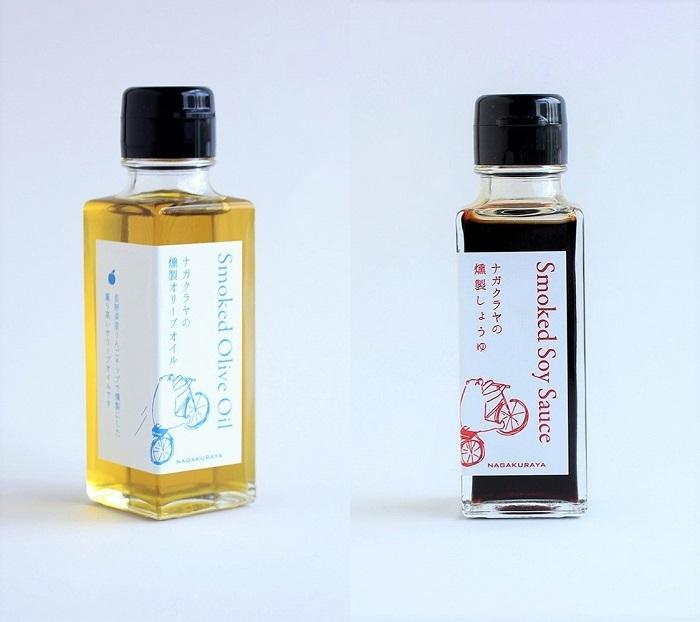 香りの秘密は、長野産りんごチップを用いた燻製にあり