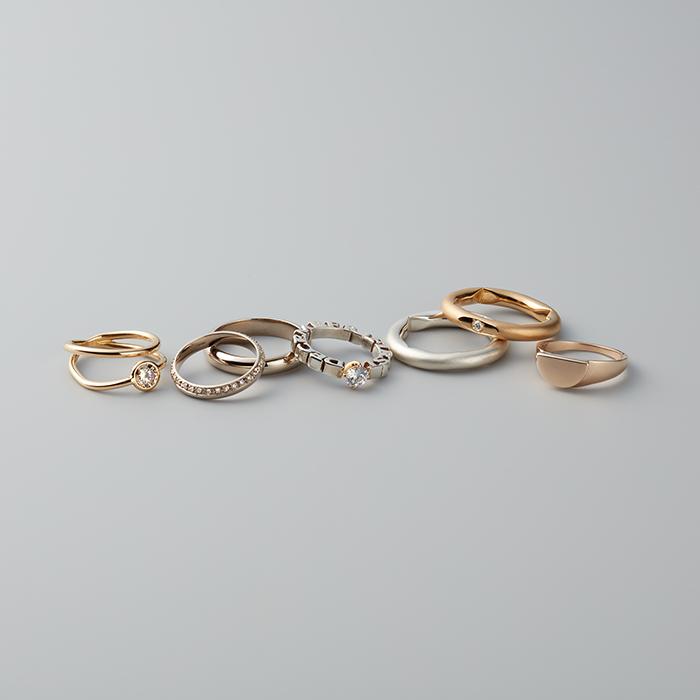 デザイナー自らが製作に携わり、クラフトマン目線で質やディテールまでこだわったリングを発信する「パラ」