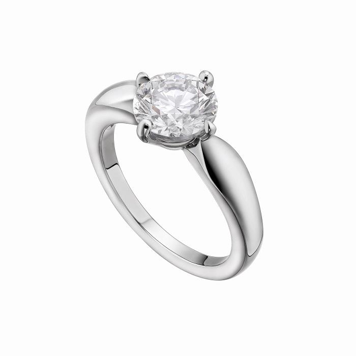 「デディカータ・ア・ヴェネチア トルチェッロ」リング〈Pt、ダイヤモンド0.18ct~〉¥247,000~