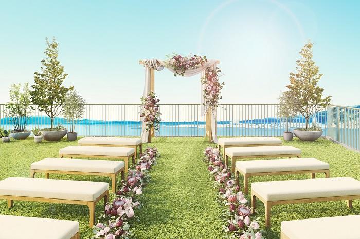 【鎌倉/HOTEL AO KAMAKURA】限定16室のシーサイドホテルで挙げる結婚式に注目