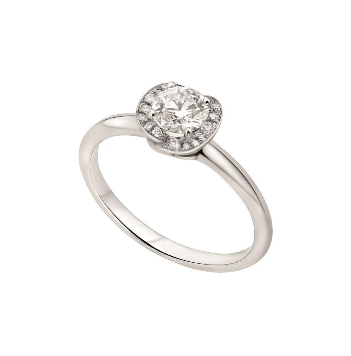 「インコントロ ダモーレ」リング〈Pt、ダイヤモンド0.18ct~〉¥269,000~