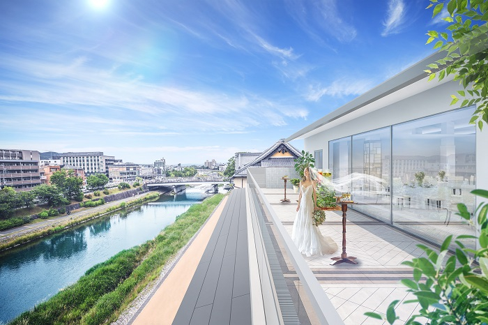 【京都/アトールテラス鴨川】リバーサイドに誕生する、晴れの日に独占できる一軒家