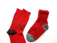 ぬくい赤い靴下、ください