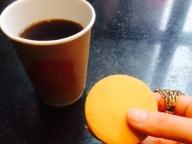 コーヒーとアンコ