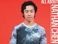 日本のスケーターをリスペクトする次世代、Nathan Chen(ネイサン・チェン)が日本の女性誌初登場!