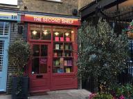 ロンドンの可愛い古書店