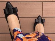いい靴で、秋の始まり