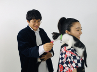 SPUR9月号のカバーに上白石萌音さんとあの人の愛猫が登場!