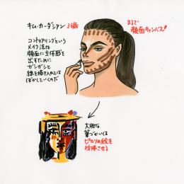 [vol.35] 皮膚呼吸はできているのか!? キム・カーダシアンの芸術的なメイクアップにカンドーする
