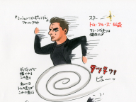 [vol.59] 『ミッション:インポッシブル フォールアウト』、トム・クルーズの全力疾走は、マンガの渦巻きグルグル走りのようだ!