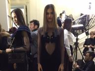 パンサーモチーフのドレス@Alexis Mabille