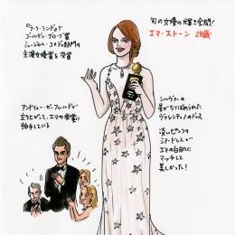 [vol.23] ♪会えない時間が、愛育てるのさ♪的な美しい瞬間を、エマ・ストーンの主演女優賞受賞時のアンドリューの行為に見た。