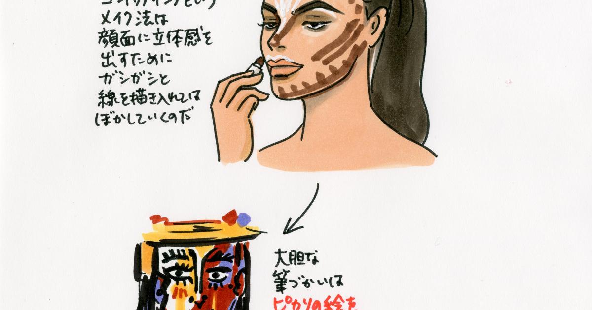 【SPUR】皮膚呼吸はできているのか!? キム・カーダシアンの芸術的なメイクアップにカンドーする「セレブったぎり!HYPER」