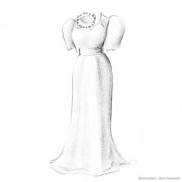 母のウェディングドレス ― 家族が着ていた服 ―