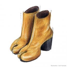 メゾン マルジェラの「タビ」ブーツ ― いちばん好きな服 ―