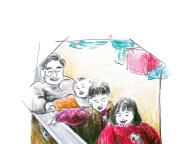 父のセーター ― 家族が着ていた服 ―