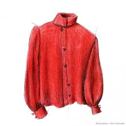 初めて着る色 ― 赤い服の話 ―