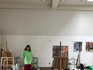 春の訪れと画家の物語