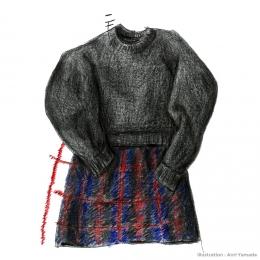 祖母のハンドメイド服 ― 家族が着ていた服 ―