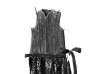 グレーのワンピース ― もう着られない服 ―