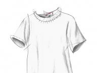 真っ白なTシャツ ― 大好きな人が着ていた服 ―