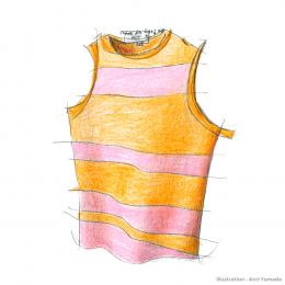 コム デ ギャルソンのボーダー ― いちばん好きな服 ―
