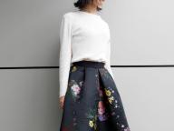 話題のコラボ、ERDEM×H&Mのスカート <11月3日、編集I>