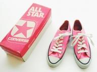 ピンクのオールスターにひと目惚れ!