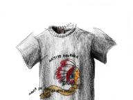 ネイティブアメリカンのTシャツ ― 誰かとおそろいの服 ―