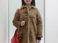 2月10日,編集K,ファーコートをカジュアルに着る