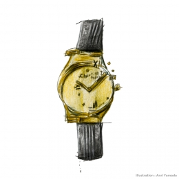 ディオールの腕時計 ― もう、なくしてしまった服 ―