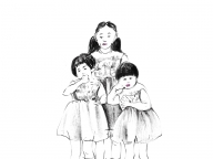 ワンピースの三姉妹 ― 誰かとおそろいの服 ―