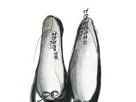 レペットのバレエシューズ ― 大好きな人が着ていた服 ―
