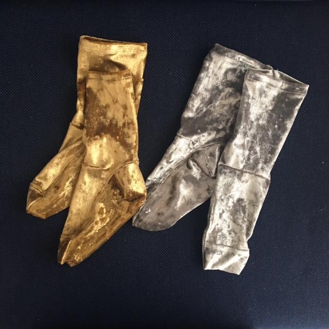 Darner socksのベルベットソックス