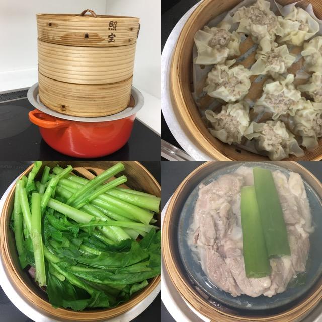 ちなみに必需品は鍋とセイロの間にかませる「蒸し板」。これのおかげで、専用の鍋を買わなくても手持ちの鍋でセイロ料理が楽しめます。