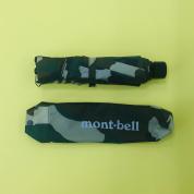 モンベルの折り畳み傘、カモフラ柄もありました
