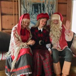 トナカイとサンタクロースに出会える、フィンランド・ルカスキーリゾートへ!