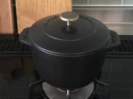 ストウブで一合炊き生活始めました。